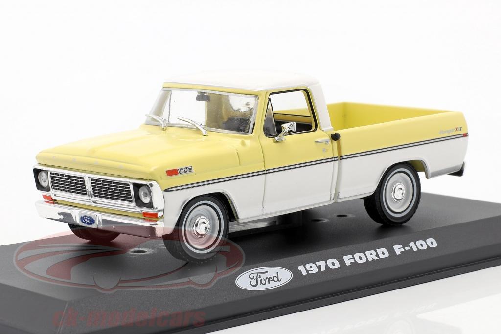 greenlight-1-43-ford-f-100-pick-up-ano-de-construccion-1970-amarillo-blanco-86339/