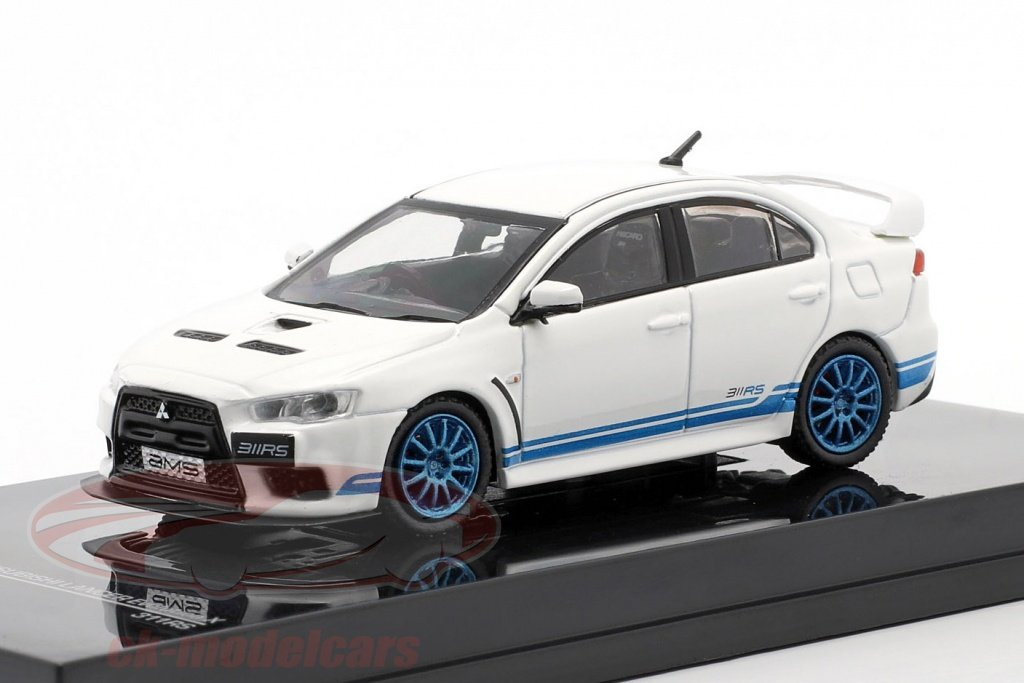 tarmac-works-1-64-mitsubishi-lancer-evolution-x-311-rs-bianca-blu-t64-004-311rs/
