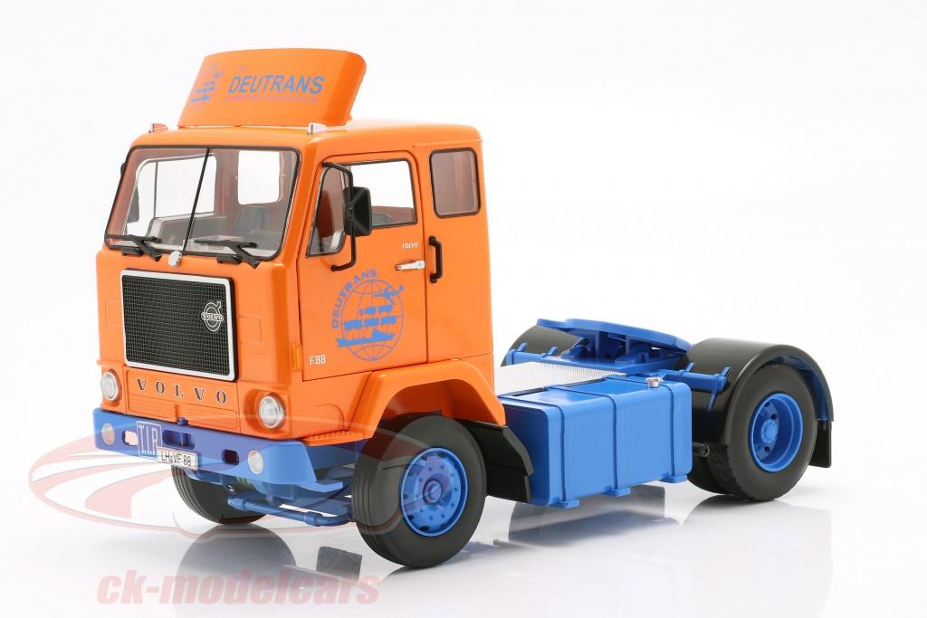 road-kings-1-18-volvo-f88-deutrans-sattelzugmaschine-baujahr-1965-orange-blau-rk180062/
