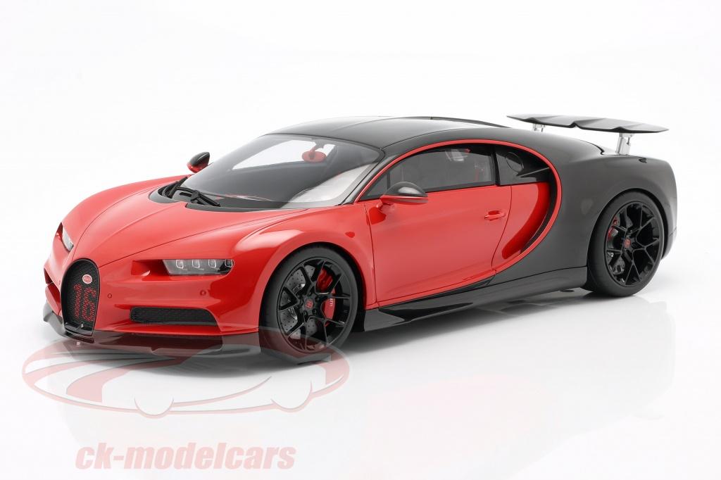 kyosho-1-12-bugatti-chiron-sport-no16-year-2019-red-black-ksr8667r/