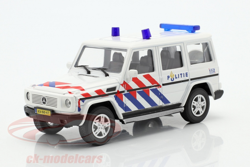 MERCEDES-BENZ G-Classe police militaire Pays-Bas 1:43 Cararama