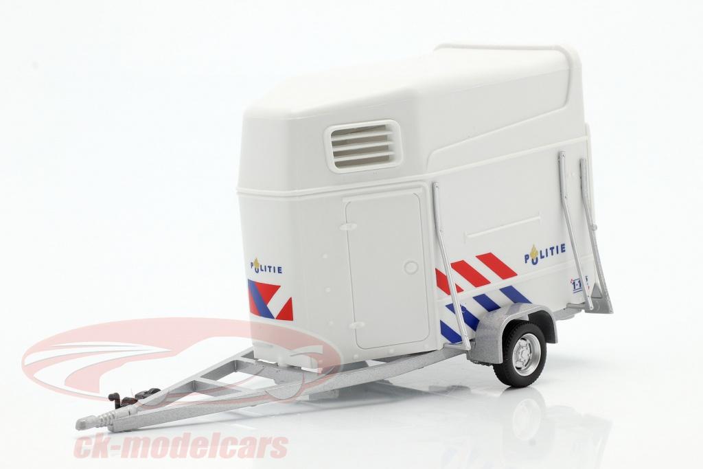 cararama-1-43-paard-trailer-politie-nederland-wit-4-92820/
