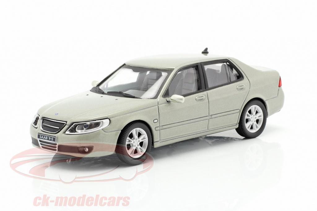 cararama-1-43-saab-95-aero-sedan-green-grey-metallic-4-46540/