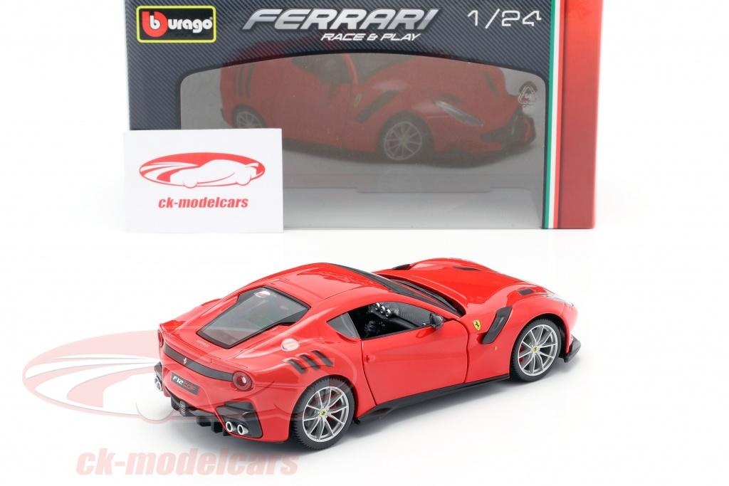 Bburago 1 24 Ferrari F12 Tdf Year 2016 Red 18 26021r Model Car 18 26021r 4893993260218