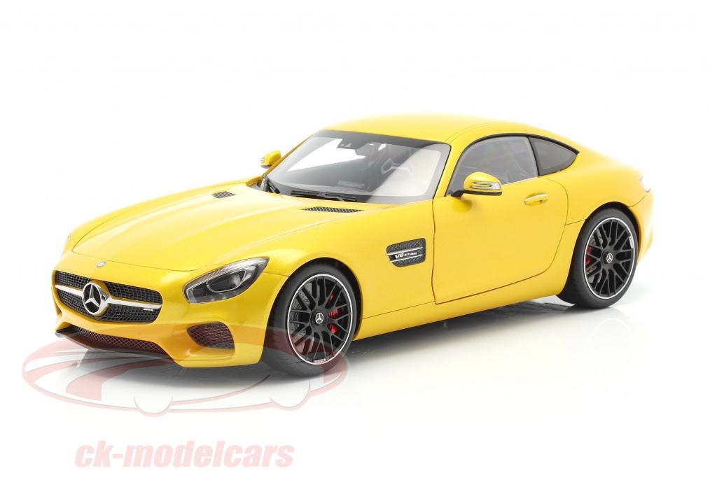 autoart-1-18-mercedes-benz-amg-gts-year-2015-yellow-76314/