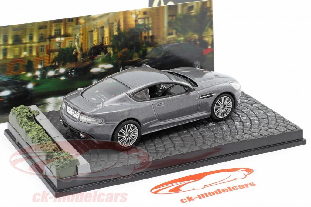 Ixo 1 43 Aston Martin Dbs James Bond Movie Car Casino Royale Grau Ky02 Modellauto Ky02