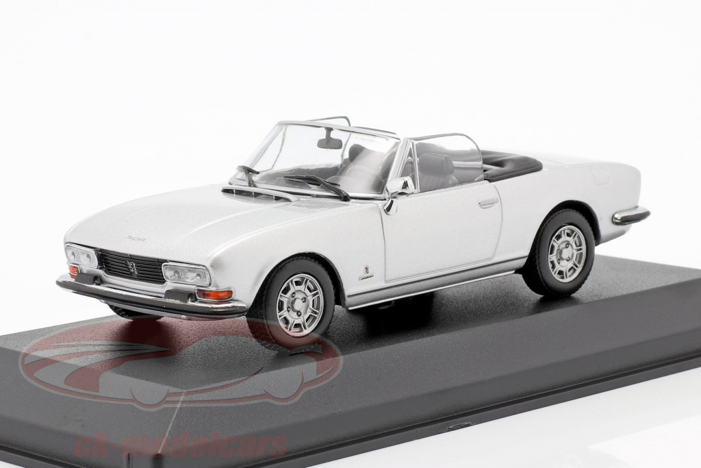 minichamps-1-43-peugeot-504-cabriolet-bouwjaar-1977-zilver-metalen-940112130/