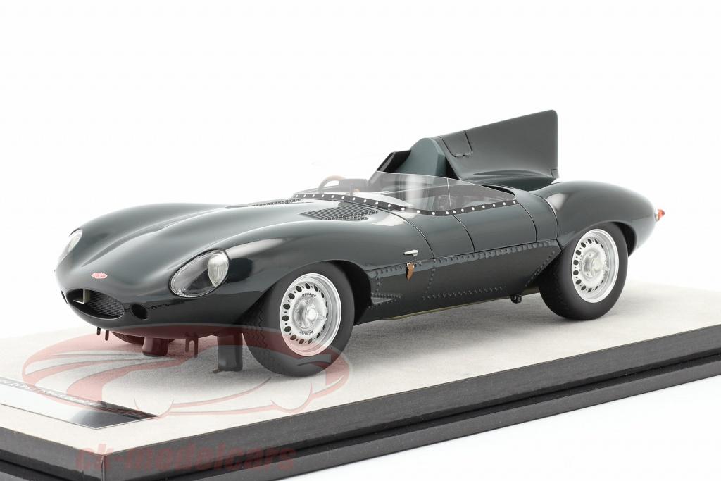 tecnomodel-1-18-jaguar-d-type-trykke-version-1957-britisk-vddelb-grn-tm18-157d/