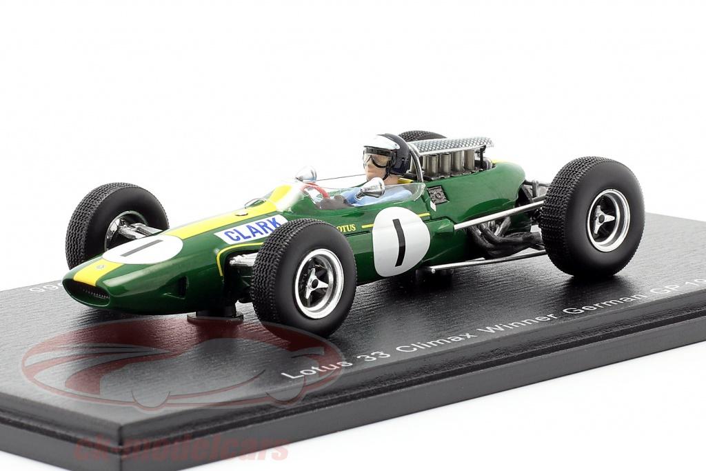 spark-1-43-jim-clark-lotus-33-no1-vinder-tysk-gp-verdensmester-f1-1965-s1614/