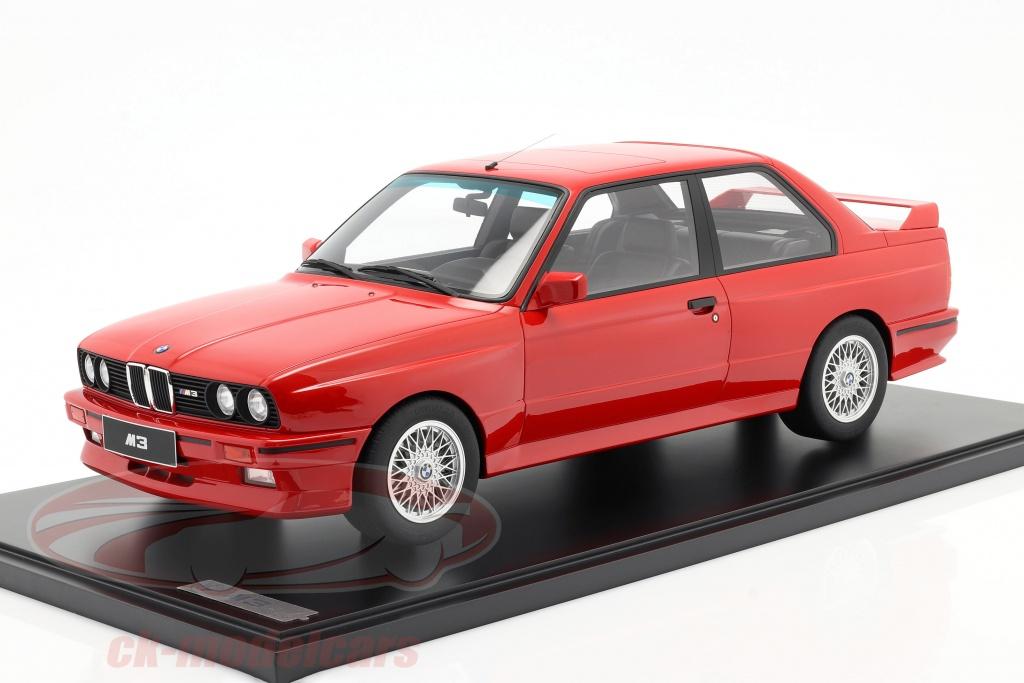 gt-spirit-1-8-bmw-m3-e30-bygger-1986-strlende-rd-med-udstillingsvindue-gts80061/