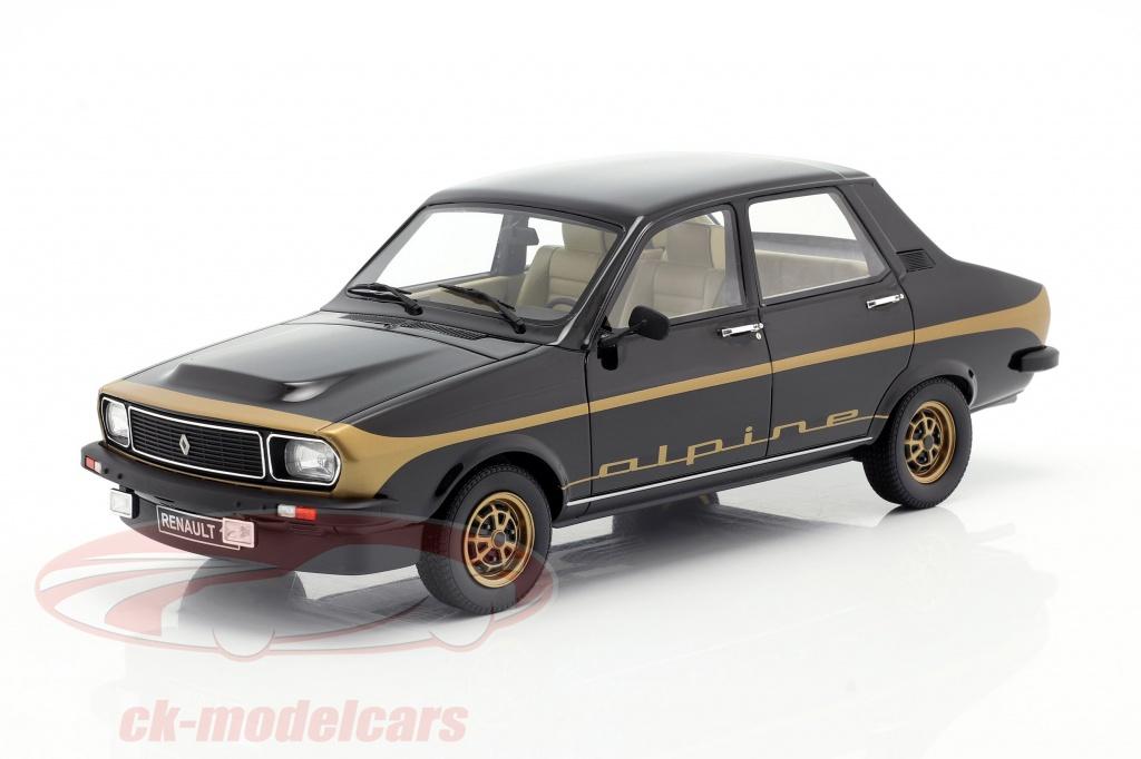 ottomobile-1-18-renault-r12-alpine-bygger-1978-sort-guld-ot336/