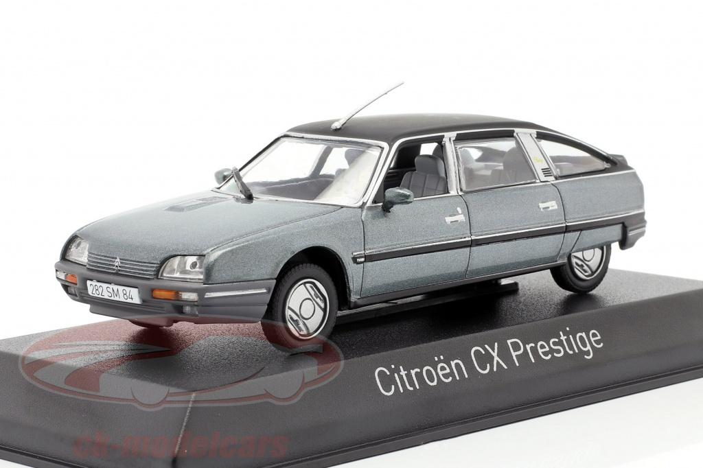 norev-1-43-citroen-cx-turbo-2-prestige-ano-de-construcao-1986-cinza-azulado-metalico-159016/