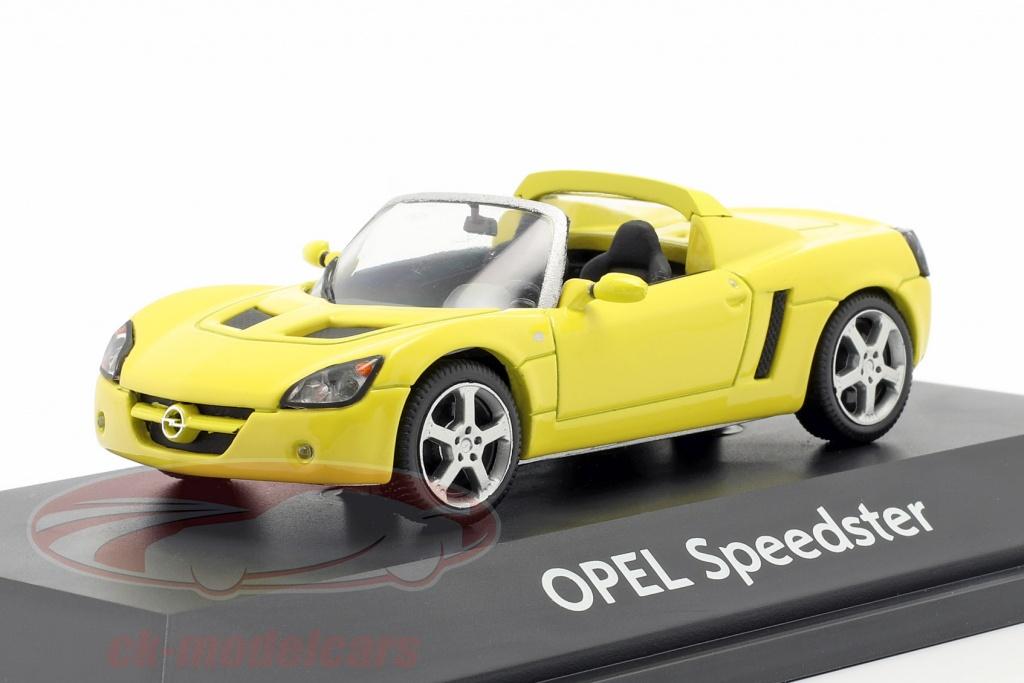 schuco-1-43-opel-speedster-giallo-9121874/