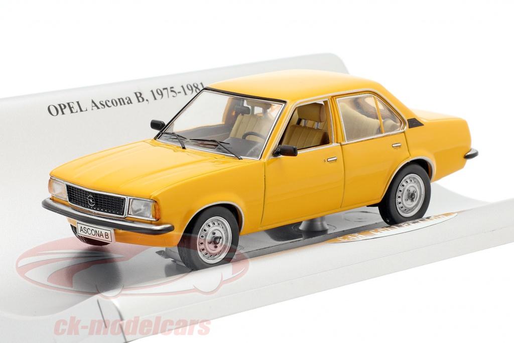 schuco-1-43-opel-ascona-b-4-door-year-1975-1981-orange-93199131/