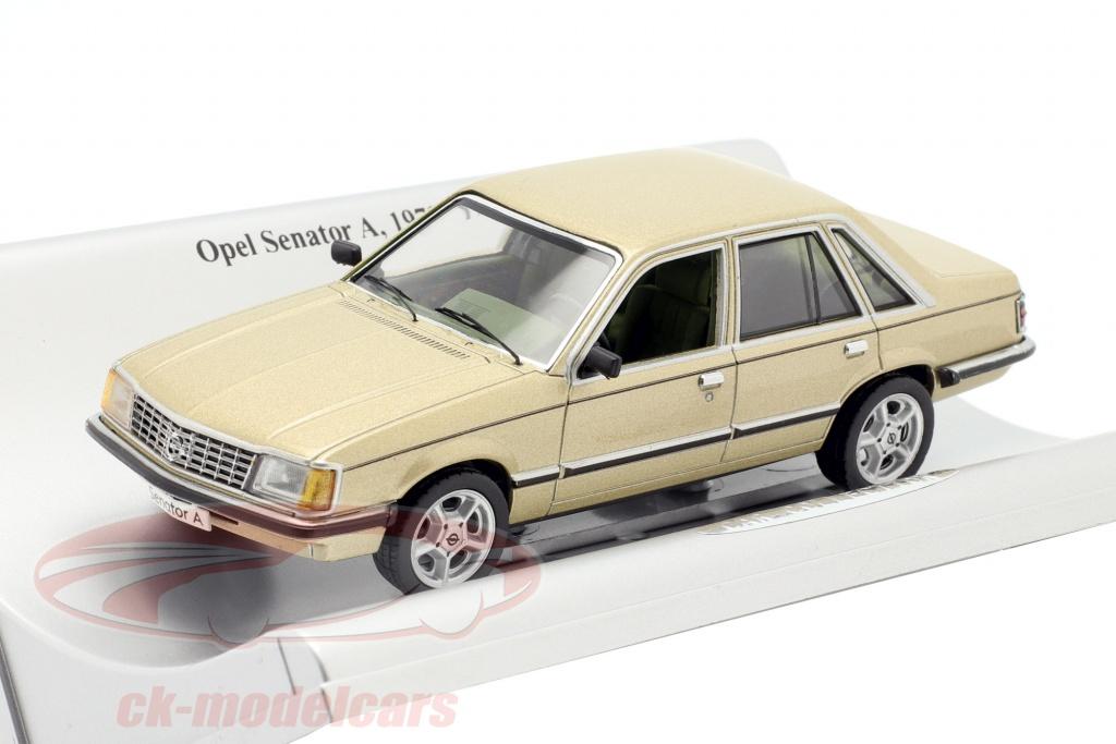 schuco-1-43-opel-senator-a-bygger-1978-1982-guld-metallisk-93199158/