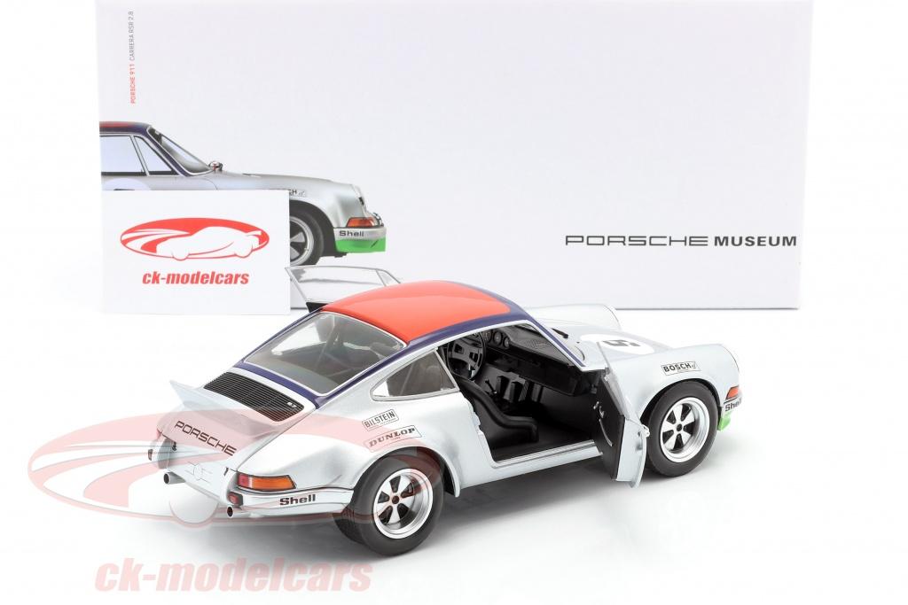 9 Targa Florio 1973 in 1:18 original Porsche Museum Modell Porsche 911 RSR Nr
