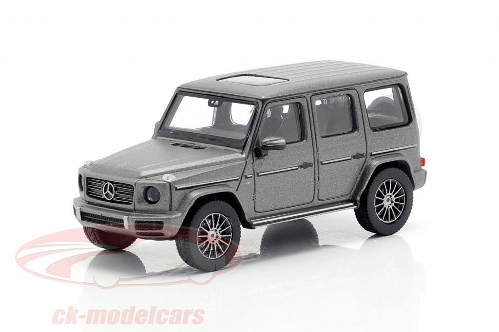 minichamps-1-87-mercedes-benz-classe-g-w463-anno-di-costruzione-2018-designo-platino-magno-870037400/