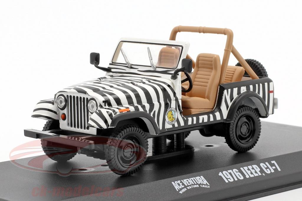 greenlight-1-43-jeep-cj-7-1976-pelcula-ace-ventura-when-nature-calls-1995-negro-blanco-86574/