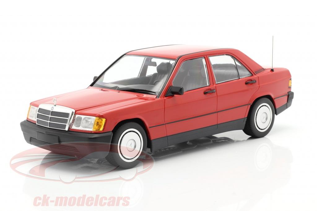 minichamps-1-18-mercedes-benz-190e-w201-anno-di-costruzione-1982-rosso-155037000/