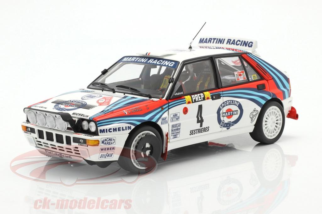 kyosho-1-18-lancia-delta-hf-integrale-no4-gagnant-rallye-monte-carlo-1992-auriol-occelli-08348a/