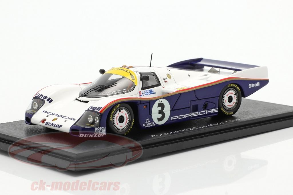 spark-1-43-porsche-962c-no3-24h-lemans-1985-holbert-watson-schuppan-s4088/