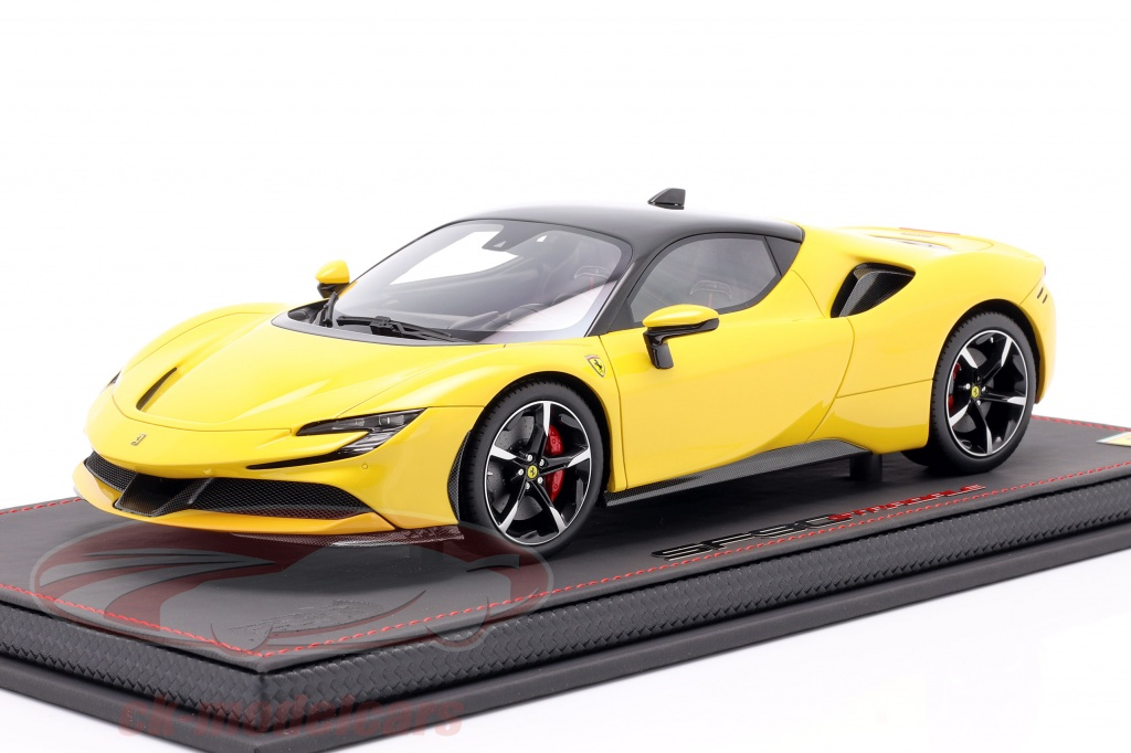 bbr-models-1-18-ferrari-sf90-stradale-year-2019-modena-yellow-black-p18180b/