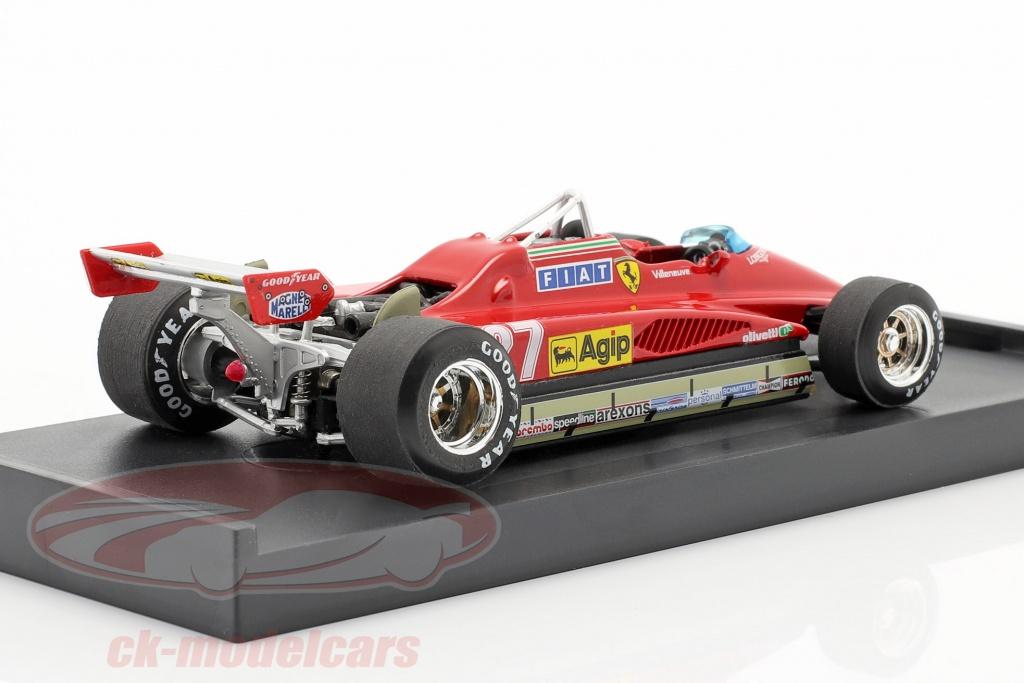 Ferrari 126C2 Turbo Gp Belgio 1982 Villeneuve #27 Last Lap Brumm 1:43 Bms1252