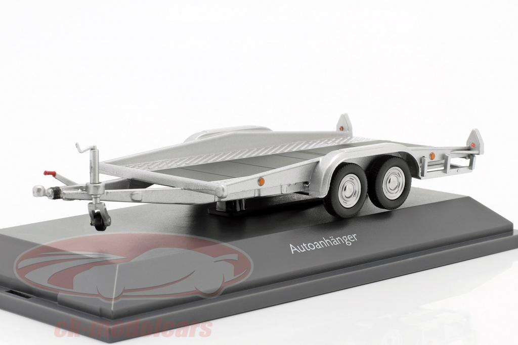 schuco-1-43-autotrailer-zilver-450376500/