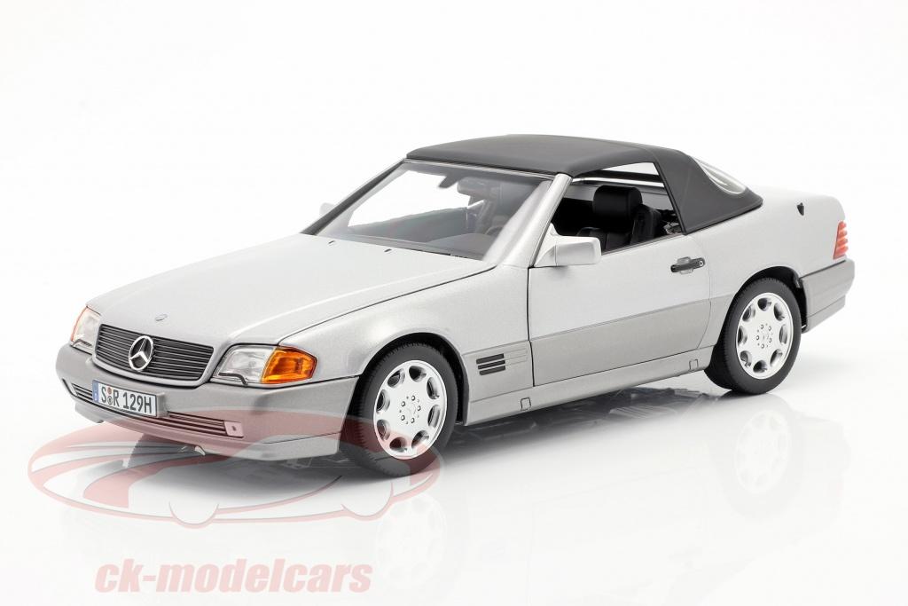 norev-1-18-mercedes-benz-500-sl-r129-roadster-1989-1995-strlende-slv-metallisk-b66040656/
