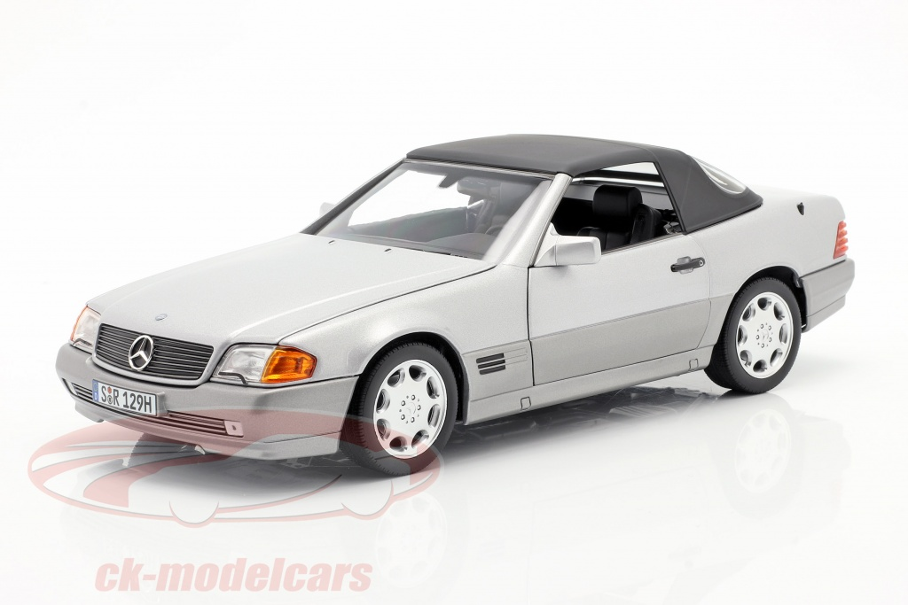norev-1-18-mercedes-benz-500-sl-r129-roadster-1989-1995-brillant-argent-metallique-b66040656/