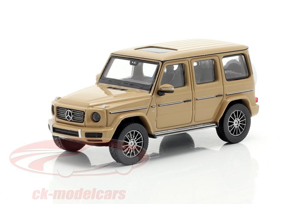 minichamps-1-87-mercedes-benz-classe-g-w463-anno-di-costruzione-2018-sabbia-beige-870037404/