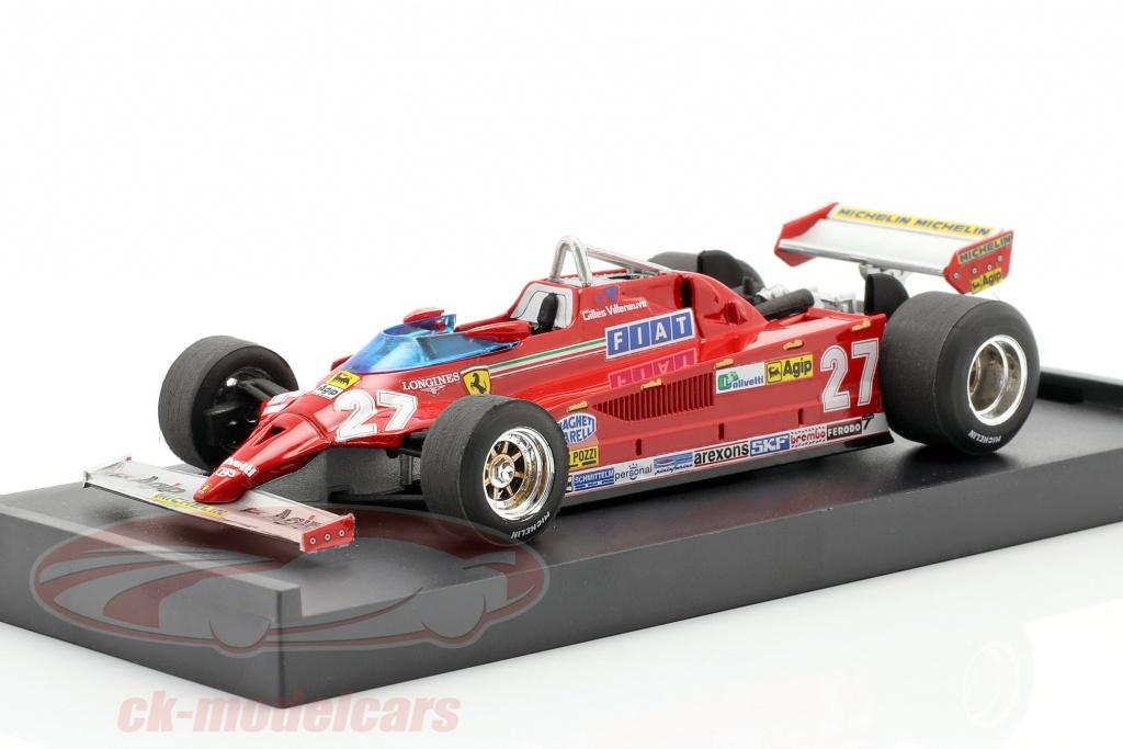 brumm-1-43-gilles-villeneuve-ferrari-126ck-no27-winner-monaco-gp-formula-1-1981-r367/