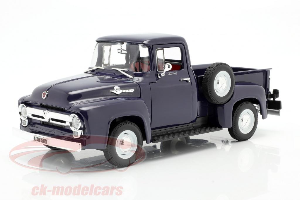 welly-1-18-ford-f-100-pick-up-anno-1956-blu-19831b/