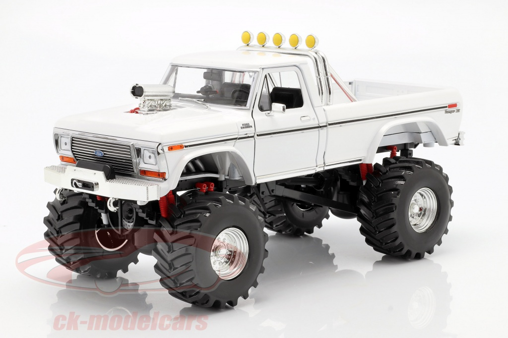 greenlight-1-18-ford-f-250-monster-truck-48-inch-tires-1979-white-13556/