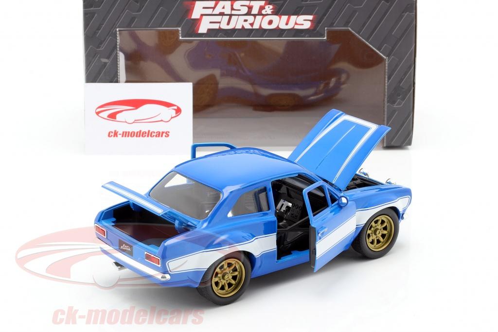 Jadatoys 1 24 Brian S Ford Escort Rs2000 Mki Fast Furious 6 2013 Blue White 99572 Model Car 99572 253203024 801310995723 4006333067075