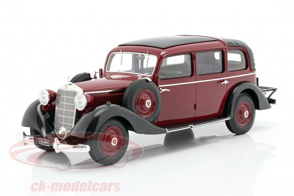triple9-1-18-mercedes-benz-260-d-w138-pullman-landaulet-1936-borgona-rojo-t9r1800102/