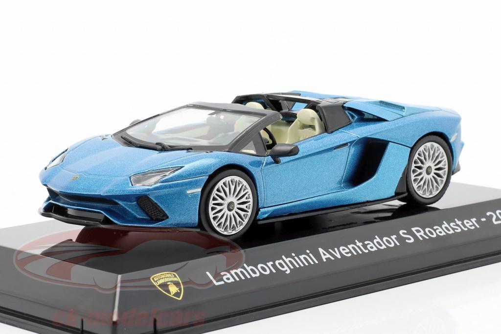 altaya-1-43-lamborghini-aventador-s-roadster-bouwjaar-2017-blauw-metalen-magsccabrio/