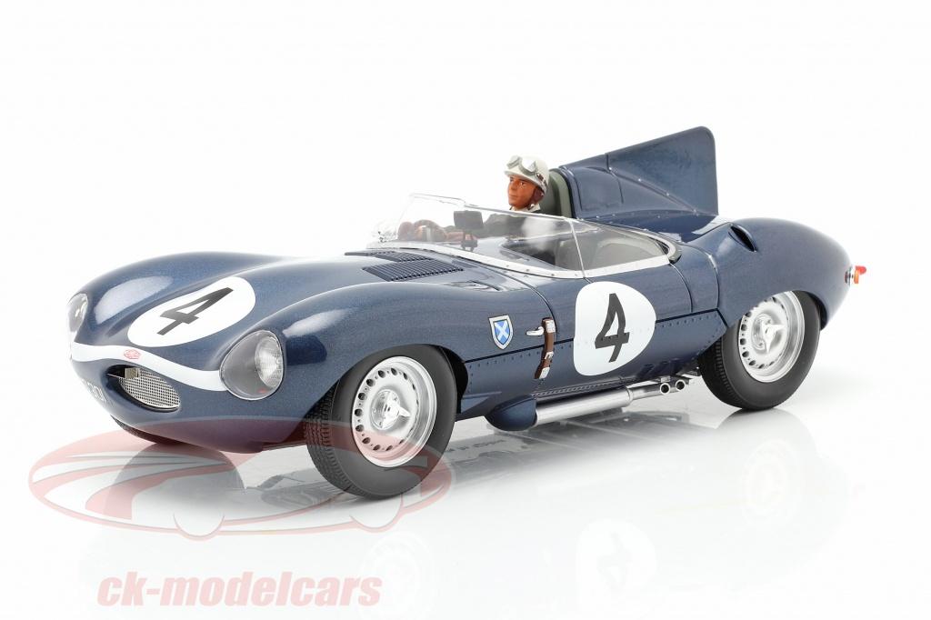 cmr-1-18-conjunto-jaguar-d-type-no4-vencedora-24h-lemans-1956-com-figura-do-motorista-cmr142-ae180178/