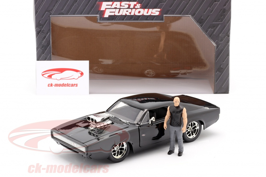 Jadatoys 1:24 Dom's Dodge Charger R/T 1970 película Fast ...