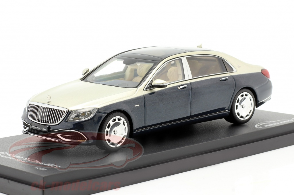 almost-real-mercedes-maybach-s-class-2019-anthracite-blue-aragonite-silver-1-43-alm420108/