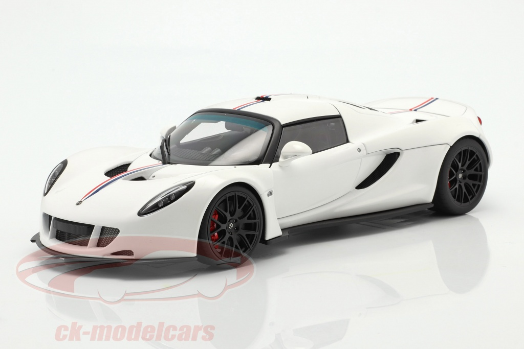 autoart-1-18-hennessey-venom-gt-coupe-spider-annee-de-construction-2012-blanc-75405/