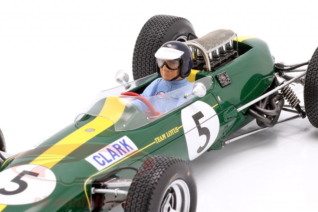 1//18 Lotus 33 #5 Jim Clark victoria GP Gran Bretaña 1965 Spark 18s416
