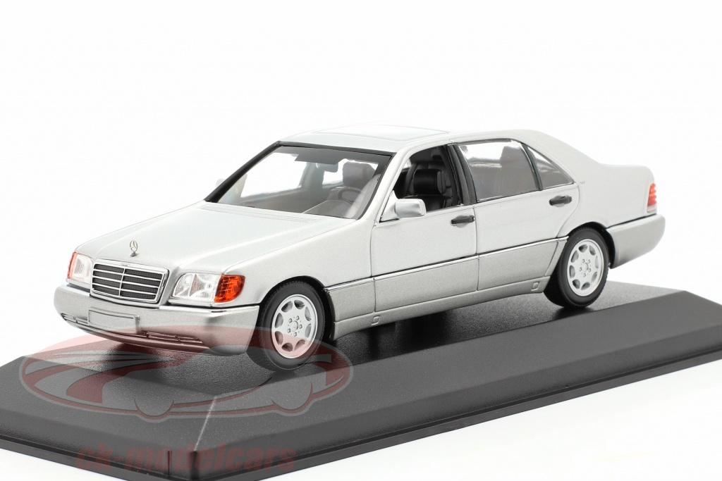 minichamps-1-43-mercedes-benz-600-sel-w140-bouwjaar-1992-zilver-metalen-940035401/