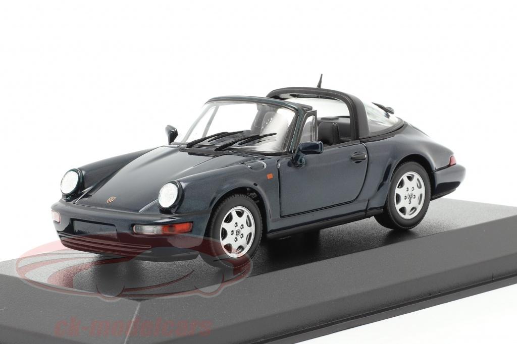 minichamps-1-43-porsche-911-964-carrera-2-targa-1991-verde-scuro-metallico-940061361/