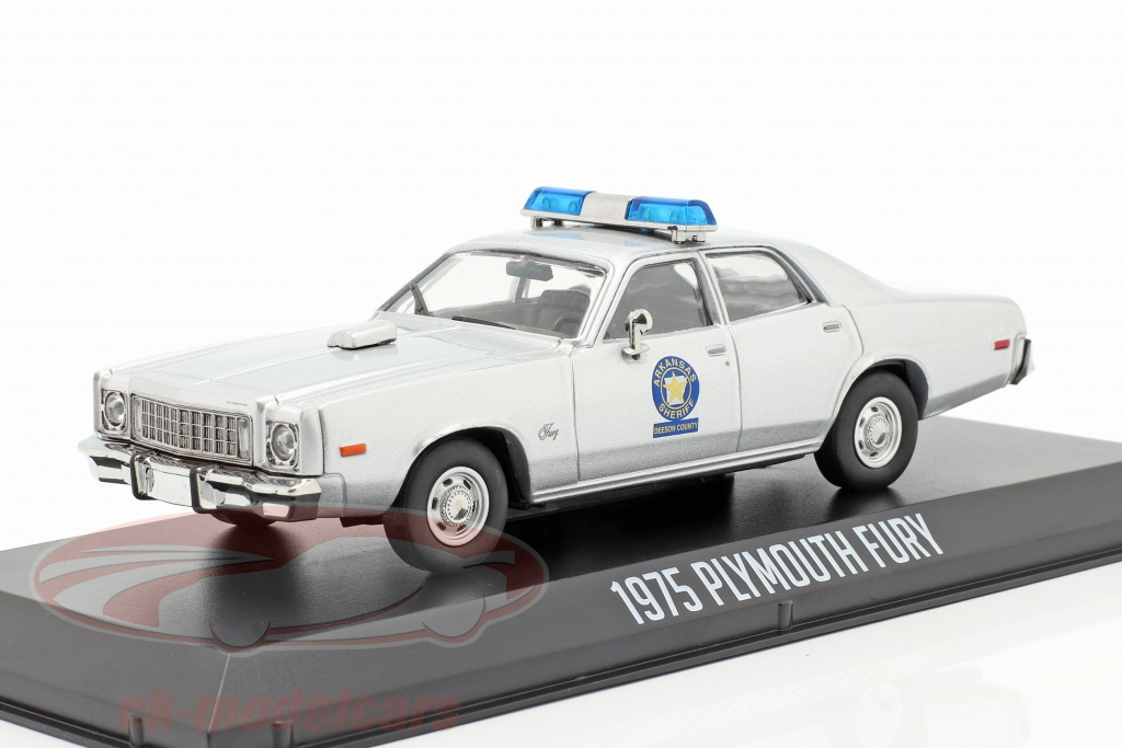 greenlight-1-43-plymouth-fury-arkansas-sheriff-1975-smokey-and-the-bandit-1977-argento-86581/