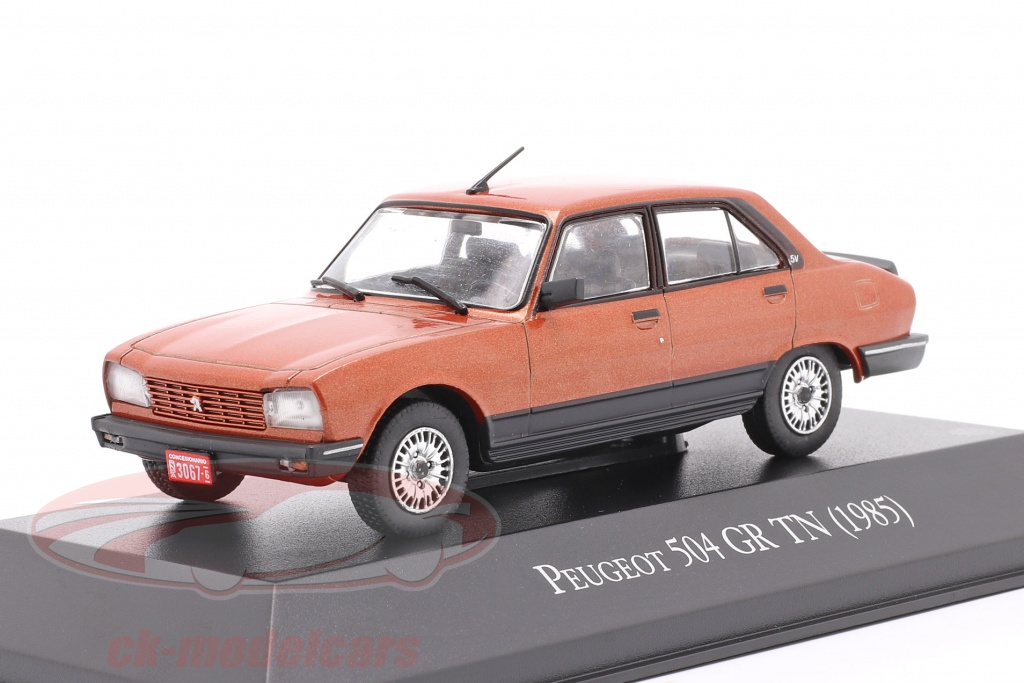 altaya-1-43-peugeot-504-gr-tn-bouwjaar-1985-koper-metalen-magargaqv10/
