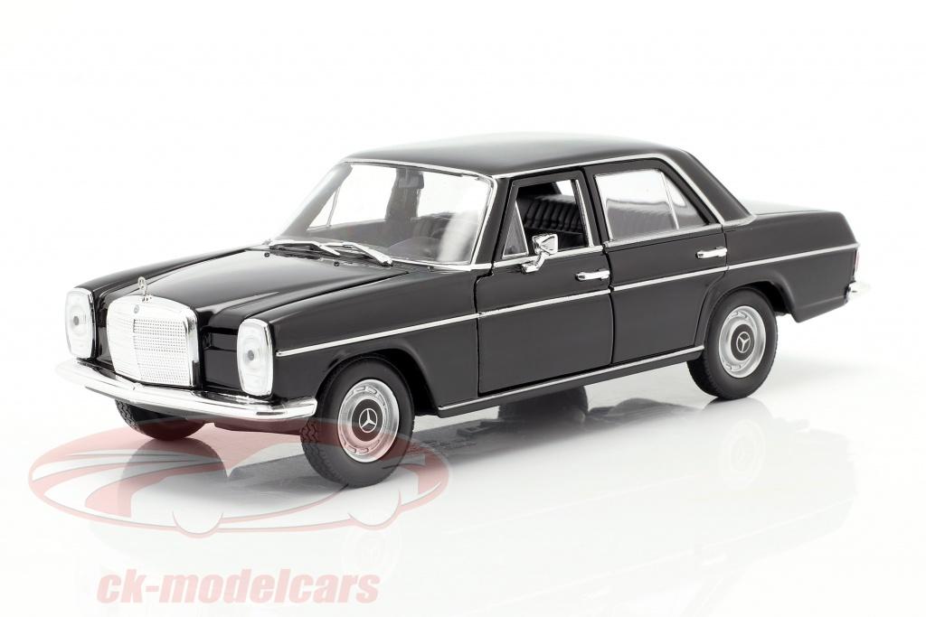 welly-1-24-mercedes-benz-220-8-w115-zwart-24091bk/