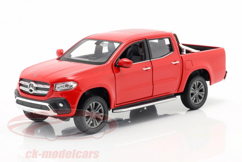 welly-1-24-mercedes-benz-clase-x-ano-de-construccion-2018-rojo-24100r/