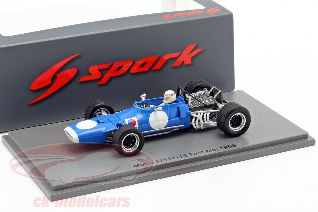 sparco-1-43-jackie-stewart-matra-ms11-12-teste-albi-formula-1-campeao-mundial-1969-spark-s7195/