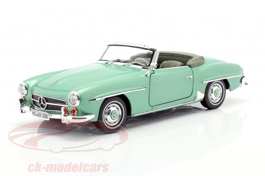 norev-1-18-mercedes-benz-190-sl-bouwjaar-1957-licht-groen-metalen-183401/